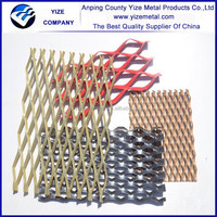 Best Selling Low Price Expanded Metal Mesh/PVC Coated Expanded Metal Sheet Fence/Copper Decorative Expanded Metal