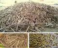 cooking fuel 6-8mm wood pellet stick