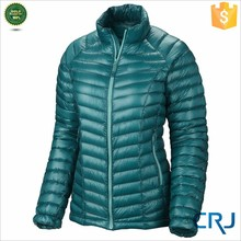 Women Light Weight Down Jacket, Shiny Down Wear, Duck Down Coat