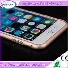 Wholesale Ultra thin aluminum frame mobile phone case aluminum metal bumper frame case for iphone 5/iphone 6/iphone 6 plus