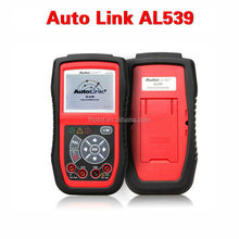 Original Autel AutoLink AL539 supports all 10 modes of OBD II test for a complete diagnosis