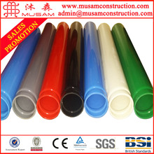 Anti-corrosion plastic coated steel pipe for municipal works
