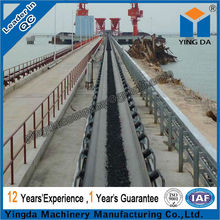 ISO approved customized wear resistant rubber belt conveyor
