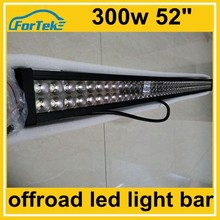 52 inch 300W led light bars off road lights