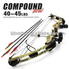 BEST SELLER!!!107 red 40--50lbs compound bow hunting bow and arrow