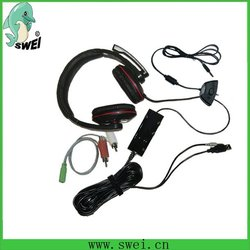 Wired headphones for ps3/xbox360/PC