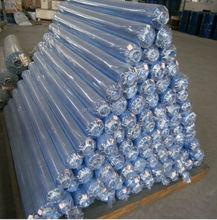 2015 Nantong Huiayuan Soft Clear PVC Plastic Film In Rolls