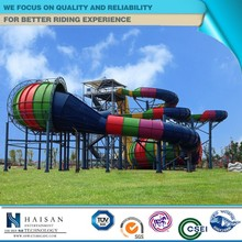 attractive popular amusement equipment, water slide manufacturer