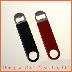 custom shape dimension bulk cheap metal stainless steel beer bottle opener hardware