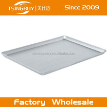 China factory wholesale high quality aluminum flat baking tray sells to Germany for Rotary oven