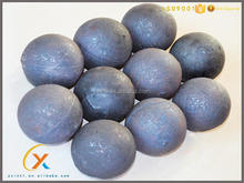 Hot sales high quality iron ball for mining forged steel grinding balls