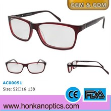 Classic style eyewear custom optical glasses frame in China