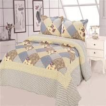 Wholesale hot-sale 100% cotton bed sheet patchwork quilt