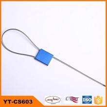 steel fastener seal of door lock