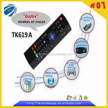 2.4G Infrared Remote Control wireless air mouse with keyboard for smart tv