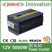 DC TO AC Electric Power Inverter/Converter 5KW 12V TO 220V with CE