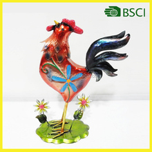 lovely metal garden decoration chicken