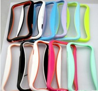 I Glow Bumper Mobile Phone Case For samsung galaxy s4 i9500,Light Up Cell Phone Case