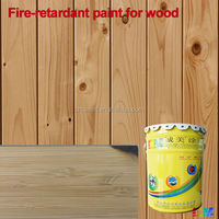 Indoor fire proof wood varnish fire resistant non flame painting for wood