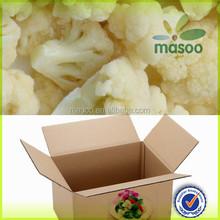IQF frozen healthy food fruits and vegetables frozen cauliflower florets