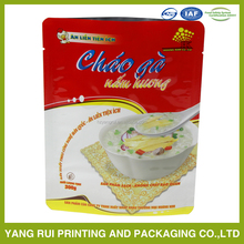 Alibaba China Manufacturer hot products eco-friendly biodegradable resealable plastic food packaging