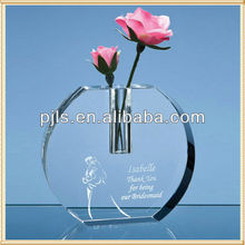 wholesale glass vases clear round glass vase