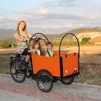 CE approved cheap 3 wheel cargo electric bicycle tricycle