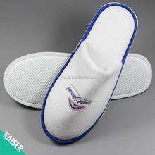 Top grade chinese velvet Embroidered slippers for star hotel,bedroom