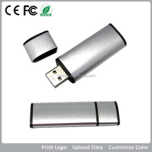 Promo Silver color Pen drive/Promotional Craft USB Corporate Gifts, Flash Drives