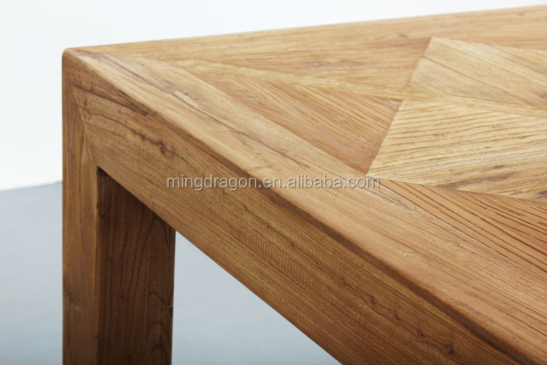 Antiguo reciclaje muebles de madera/reproducción de madera maciza ...