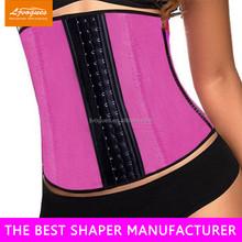 High Quality Latex 3 Hook Waist Trainer, waist Underwear Shaper, 100% latex waist cinchers