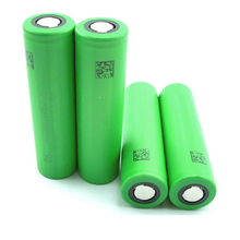 2014 New high drain 30A VTC5 green 30amp 18650 2600mAh battery with flat top/high power cell