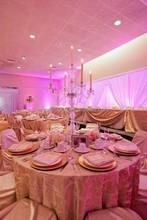 fashion elegant Clear crystal candelabra for wedding decoration