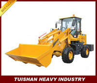 1000kg Single cylinder farm equipment mini front end loader with mechanical joystick