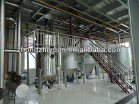 edible soya bean oil refining plant machinery