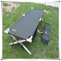 Leisure folding camping bed