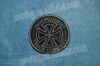 embroidery patch embroidered custom badges / patches Truck Company + Cotton Fabric + Felt + Embroidery