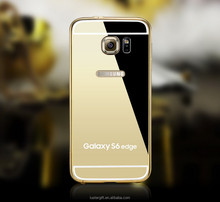Factory outlet ! Luxury case for samsung galaxy S6 edge aluminium case