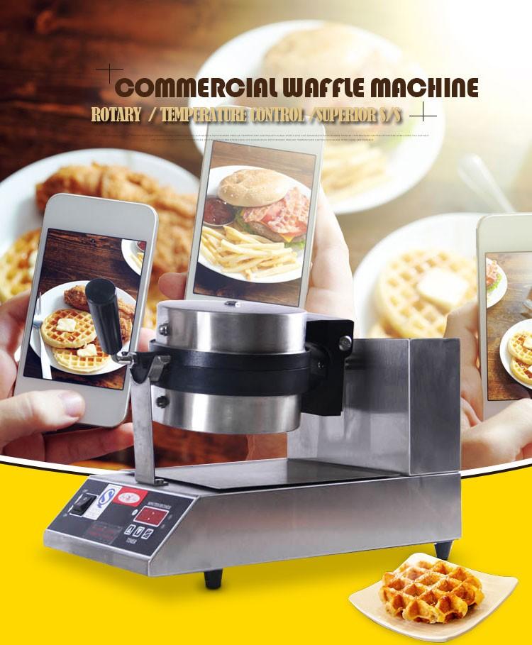 Scandinave style professionnel gaufres machine gaufres biscuit ...