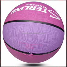 official size 6 women custom leather basketball ball