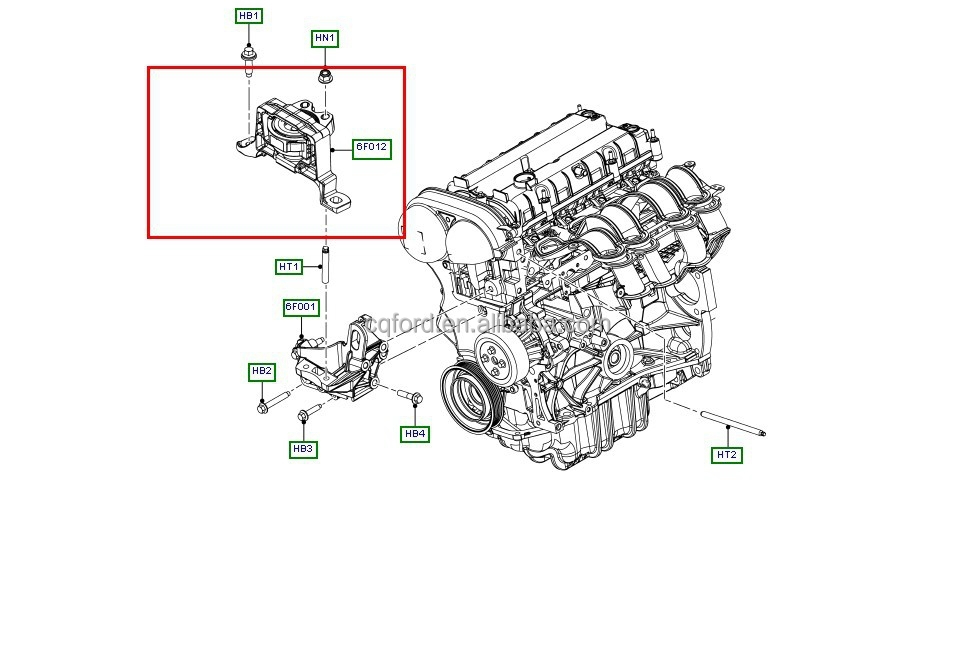 Top qualit      Motor       mount    pour Ford    Focus     nouvelle mise au point  2012    Focus        Focus    2 OEM