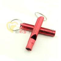 V1090 Fashion Design Aluminum Material 2*6.5CM Cat Pet Dog Whistle Drop Shipping Factory Produce Wholesale Price