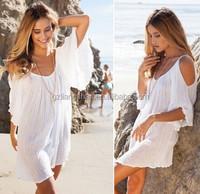 OEM Wholesale Casual BOHO Sexy Women Summer Loose Evening Party Cocktail Mini Beach Dress Sundress
