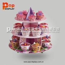 3 Tier Cardboard Cupcake stand wedding cake stand