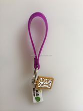 Custom-made PVC soft plastic gift key pendant key rings promotional gifts