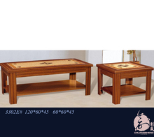 office home hotel coffee table with MDF+Pattern paper