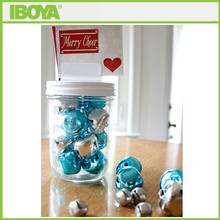 Eco tapered glass candy jar wholesale festival holiday gift