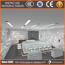 eyewear rotatable display goggle & spectacle display unit decorative wood wall shelf