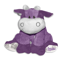 Popular Milka cow purple middle soft toy