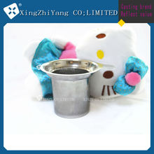 High quality stainless steel tea strainer filter with handle factory in China